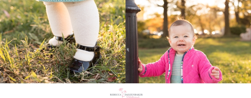 Photos of one year old girl in Northern Virginia