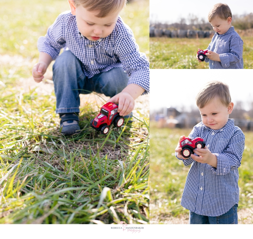Photo of Boy Playing with truck in Northern Virginia