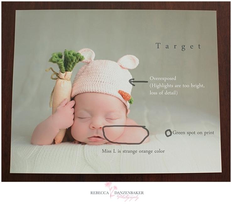 markup of Target print