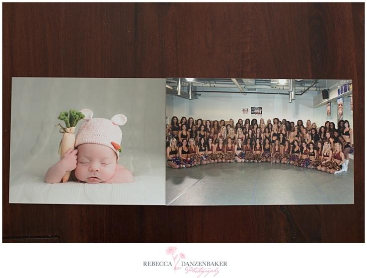 Pro lab baby photo vs Costco Redskins Cheerleaders