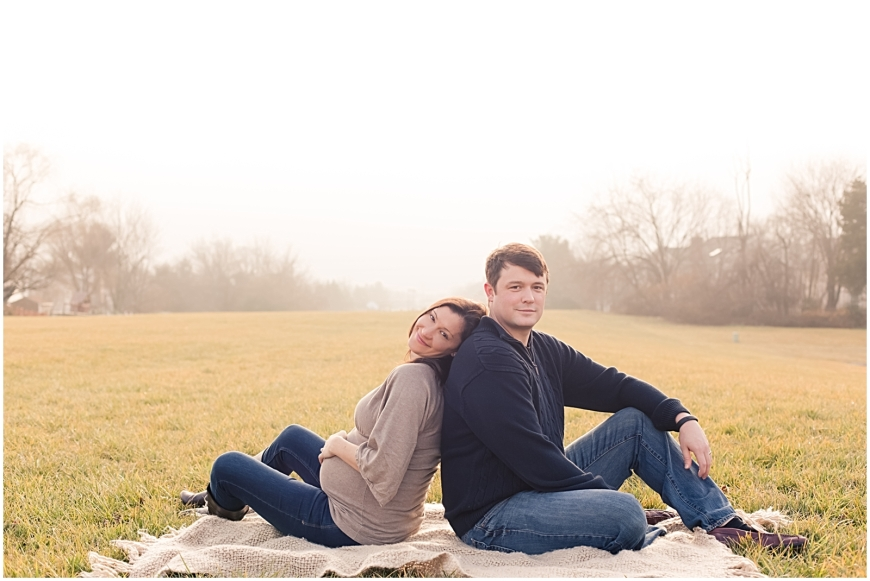Maternity photos in Fairfax VA