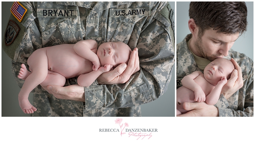 Newborn Photography Military Arlington VA