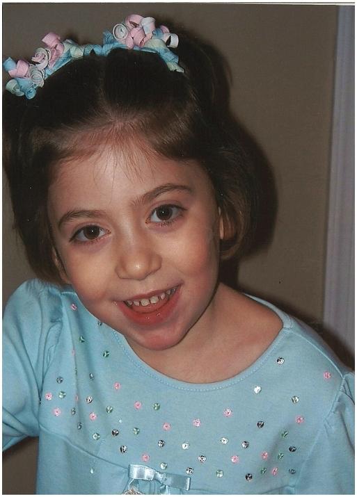 Girl with Niemann-Pick Type C Disease