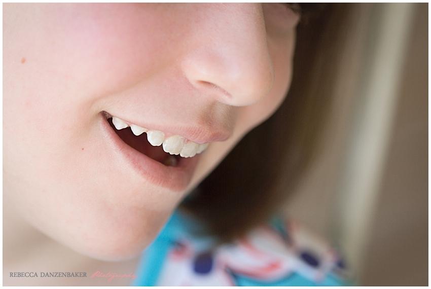 Ashton's smile