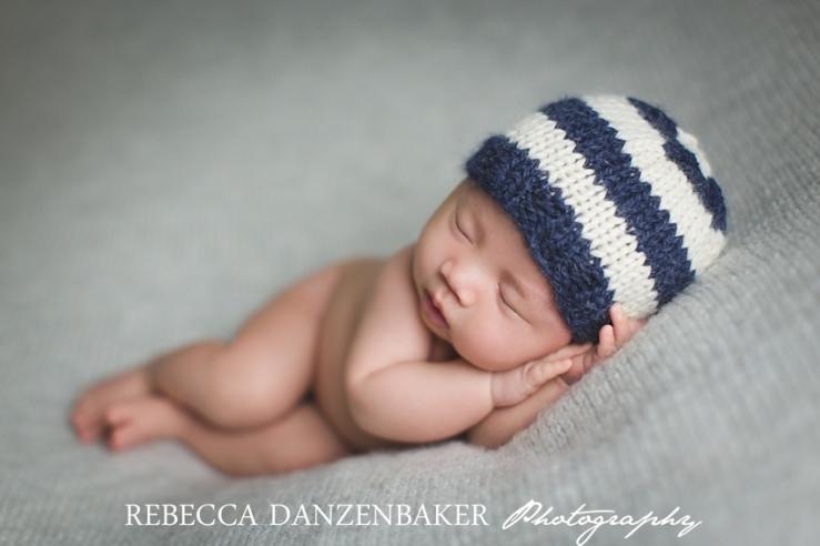 Older newborn portraits in Loudoun County VA