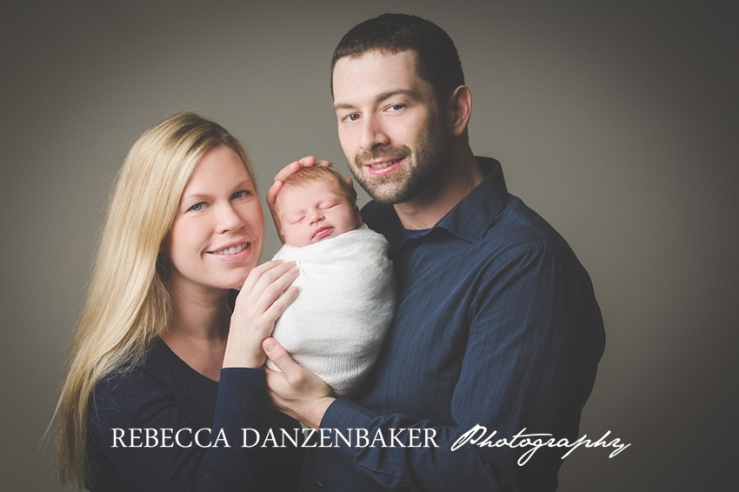 newborn studio portraits in Loudoun County