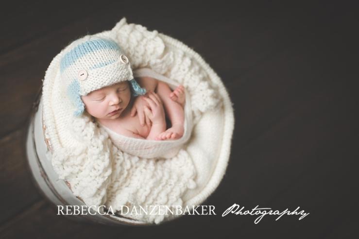 Newborn studio portraits Brambleton VA