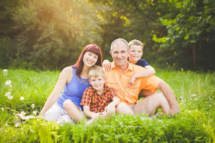 Summertime family photography in Ashburn Loudoun VA